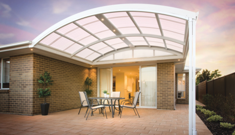 "Take a Step Back into Time with a Quirky ""DOME"" Style Patio!"